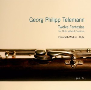 Solo Telemann Fantasia CD Cover