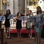 Mozart Flute Concerto for solo flute and orchestra of 12 flutes