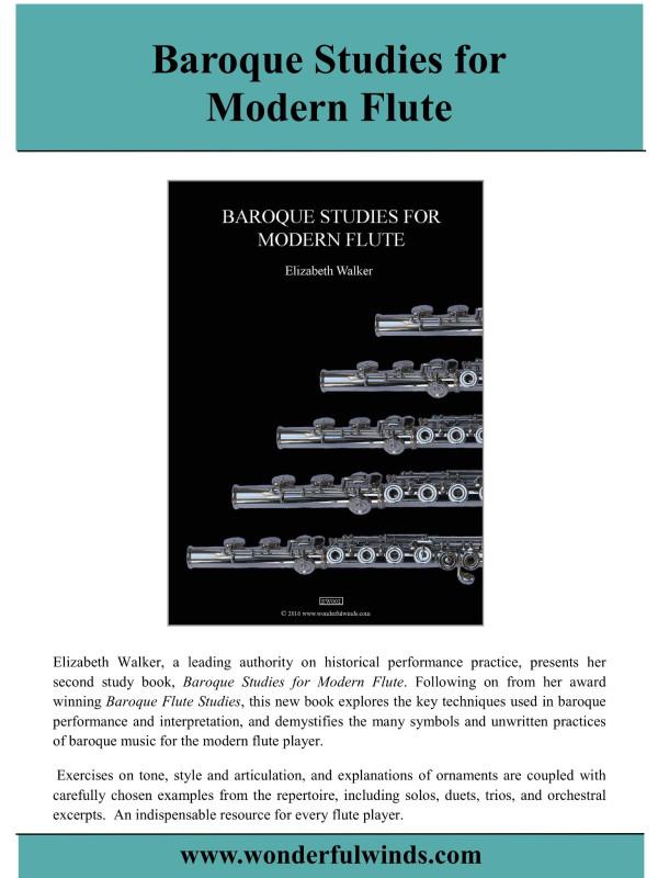 Baroque Studies for Modern Flute