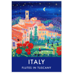 Flutes in Tuscany, Tereglio, Italy by John Dyer