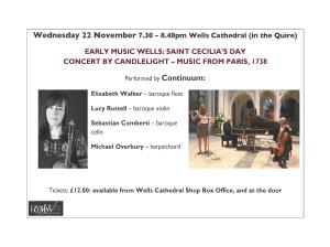 Wells concert Nov '17